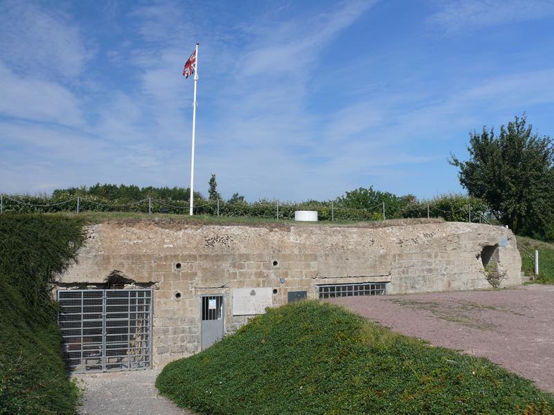 bunkers du site Hillman à Colleville Montgomery