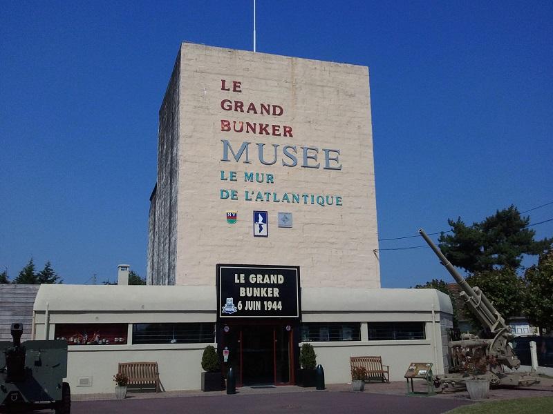 le grand bunker musée du mur de l'atlantique